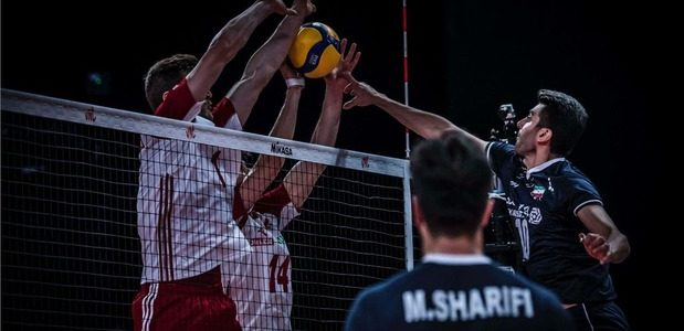 تیم ملی والیبال 6 نفره برابر لهستان